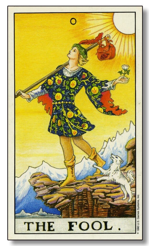 Image: Modern Tarot - The Fool