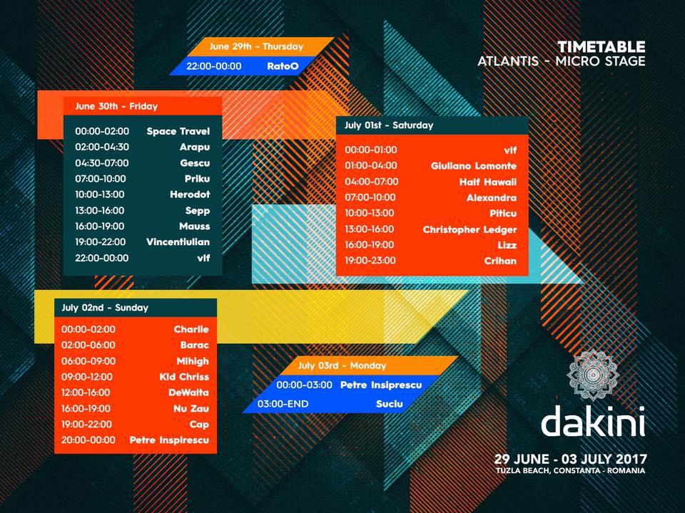 Dakini Festival micro stage