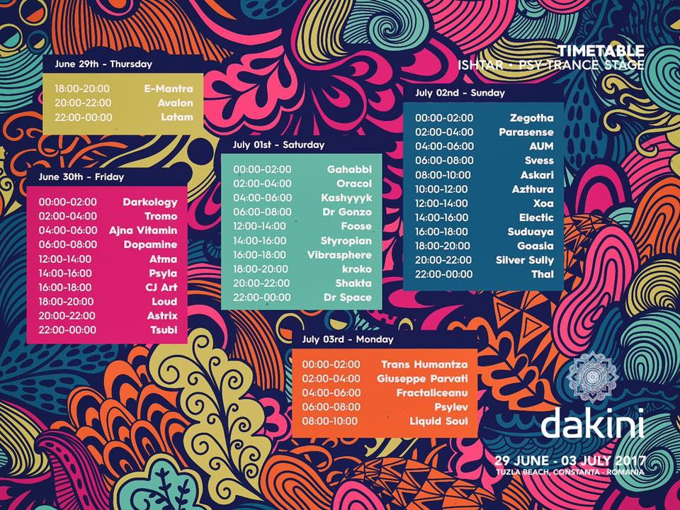 Dakini Festival psytrance