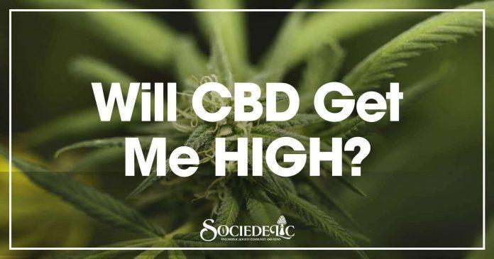 Will CBD Get Me High