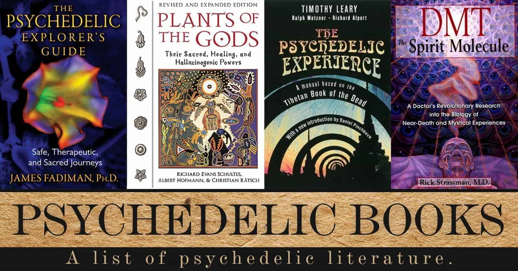Best Psychedelic Books – Sociedelic