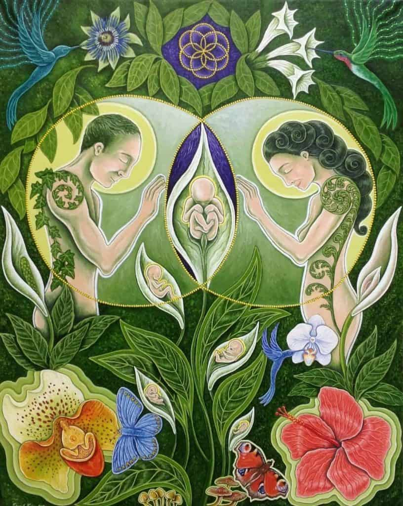 Born out of Nature by Edward Foster / Sacred Geometry