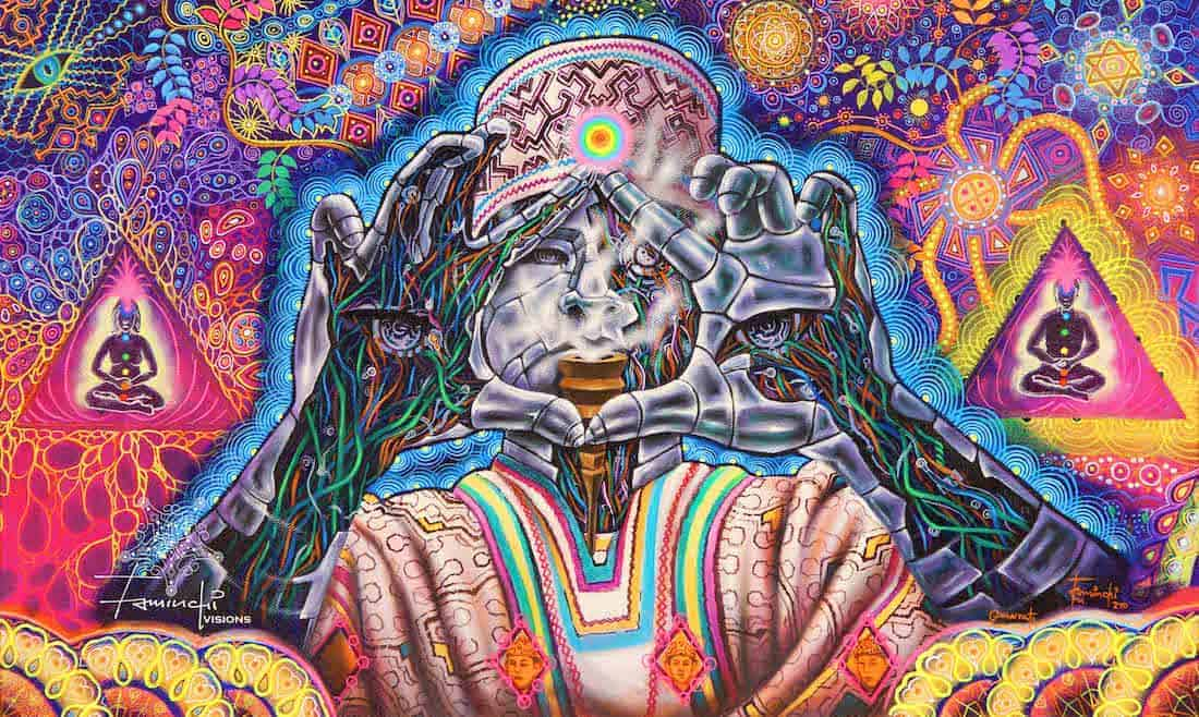 39 Psychedelic Visionary Art Drawings And Paintings Sociedelic