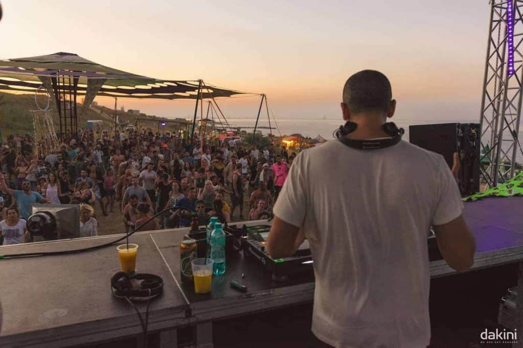 Astrix @ Dakini Festival 2017 - Tuzla, Romania