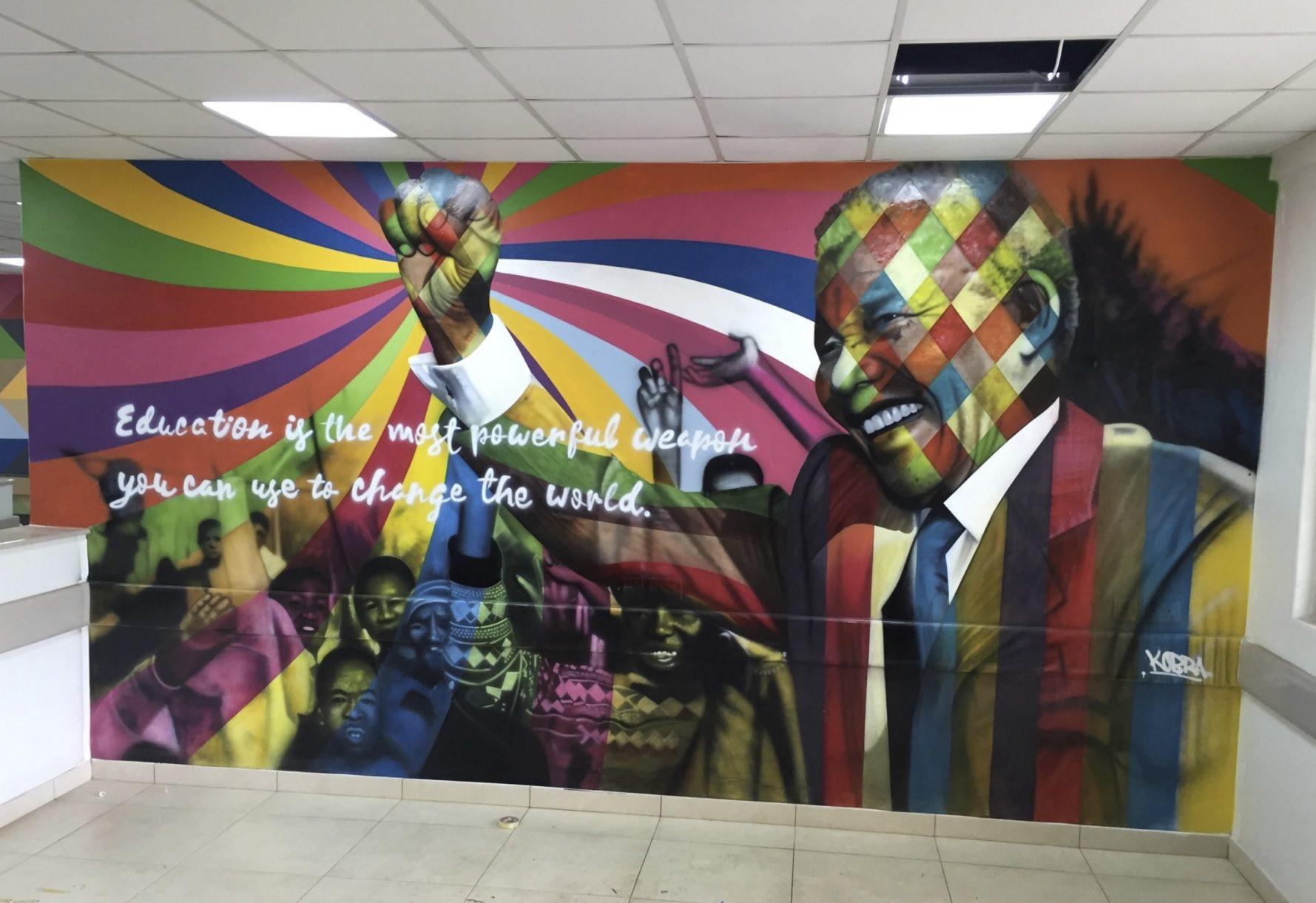 Mandela by Eduardo Kobra