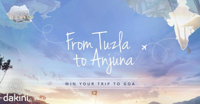 Dakini is taking you and a friend from Tuzla to Anjuna