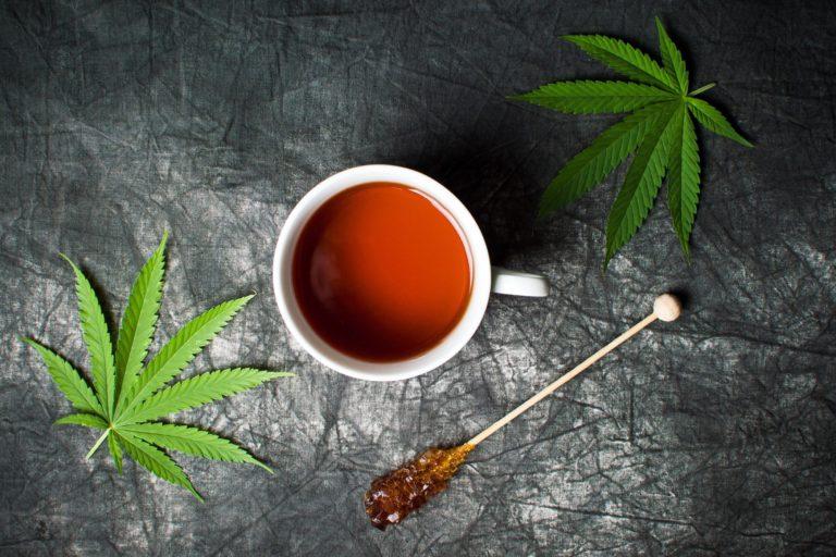 Health Benefits of Marijuana Tea (CBD Oil For Sleep)