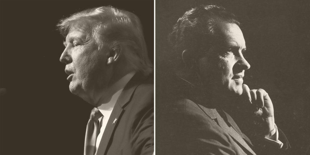 Donald Trump and Richard