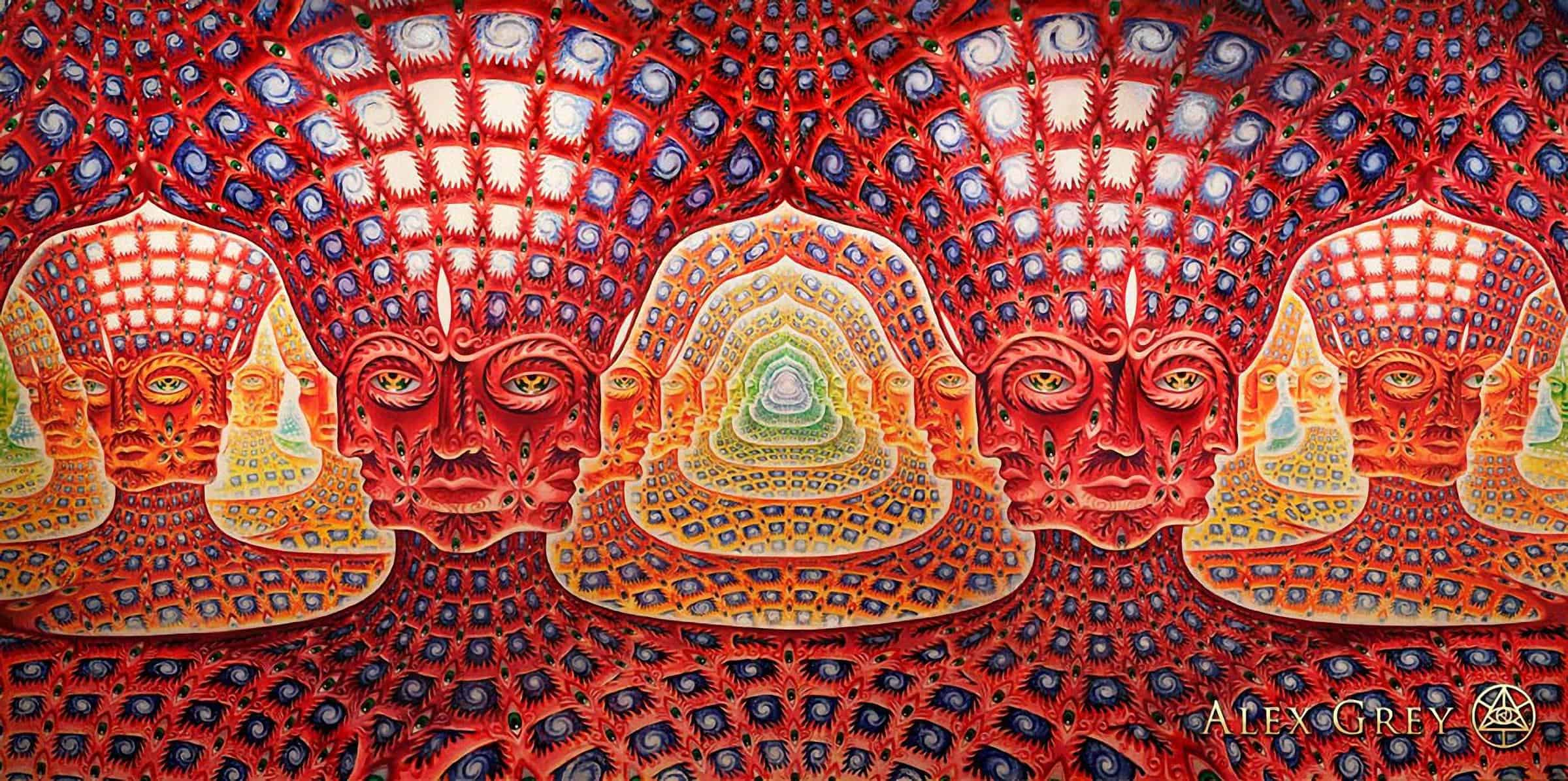 Net of Being 2002-2007 by Alex Grey
