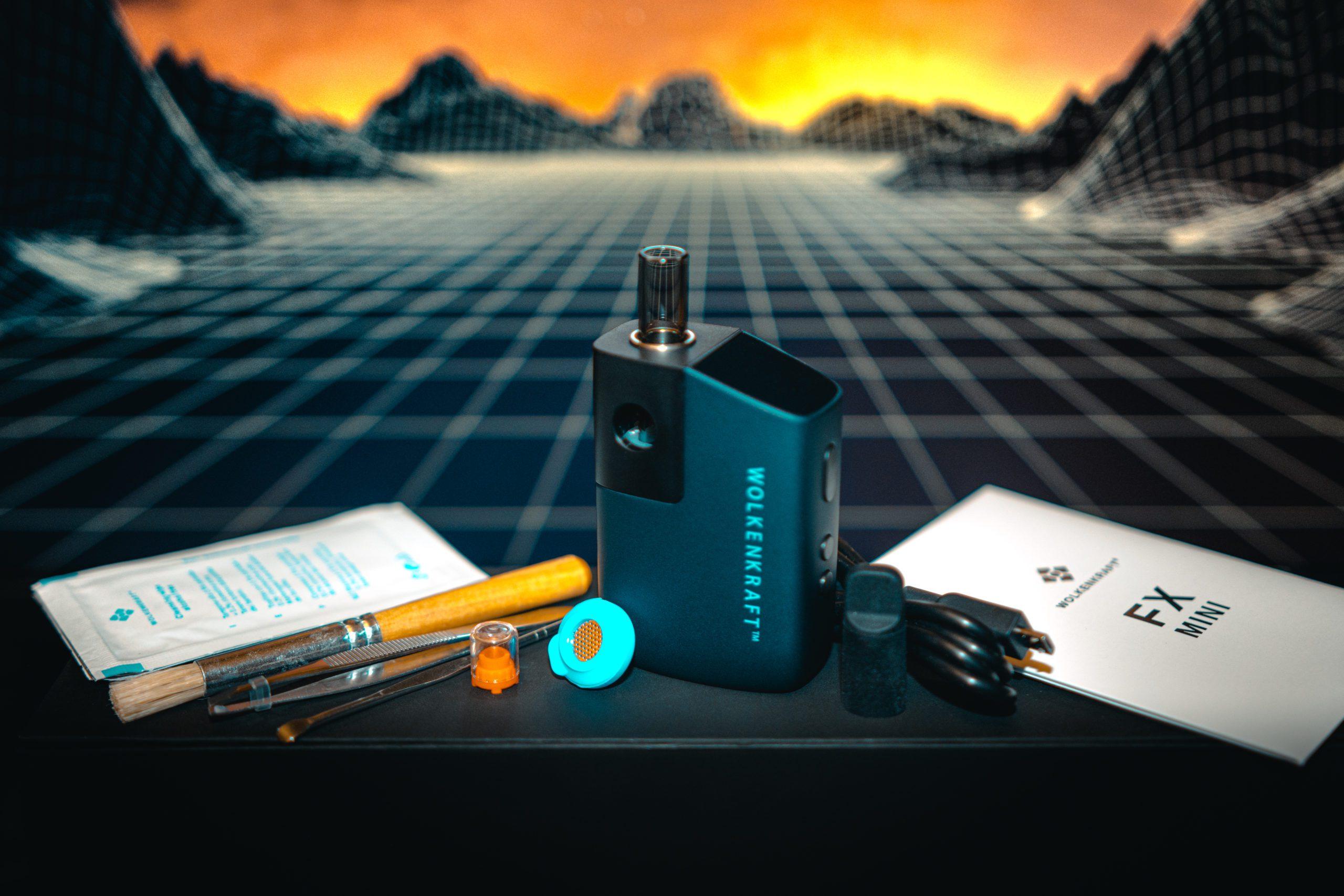 Wolkenkraft FX Mini Vaporizer accessories