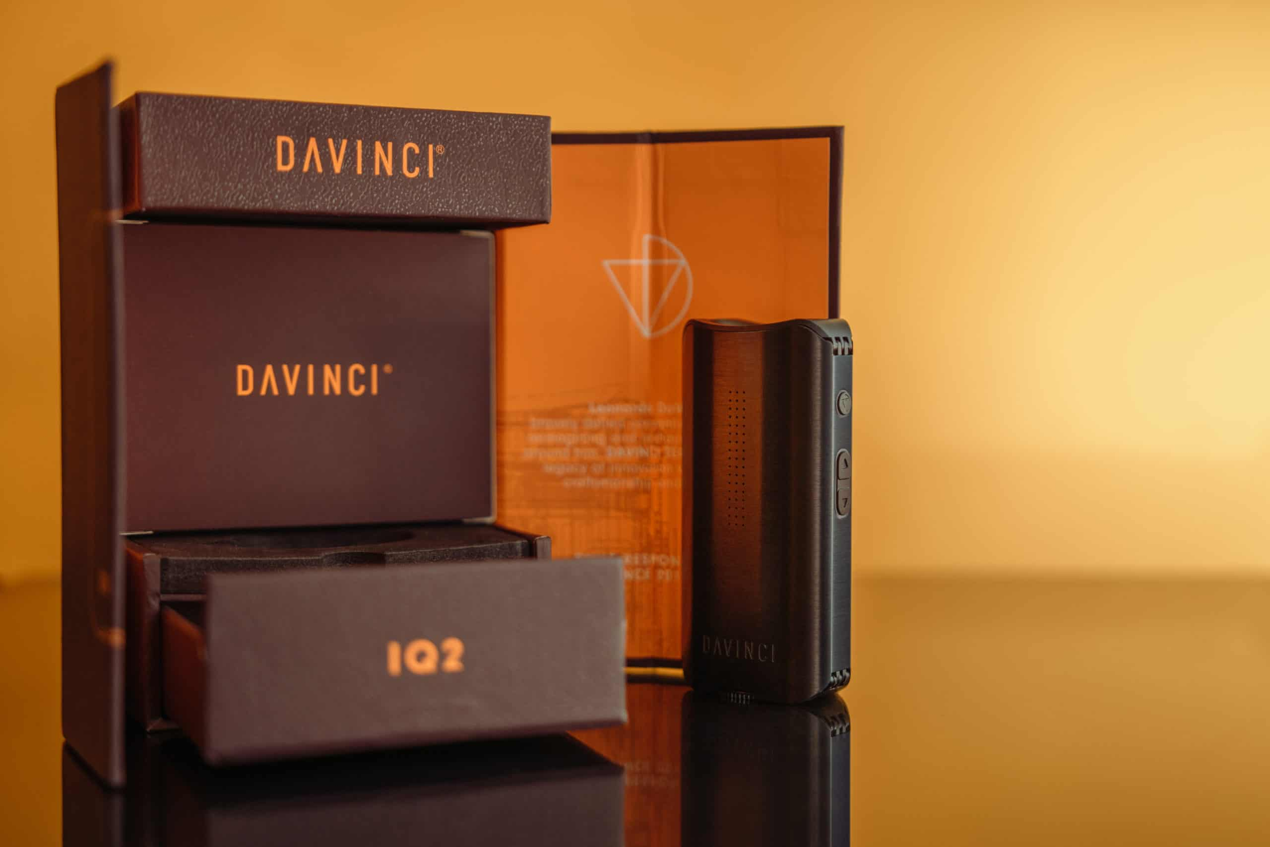 DaVinci IQ2 vaporizer