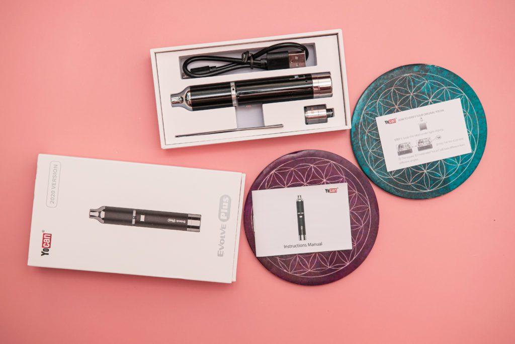 Yocan Evolve PLUS Wax Vaporizer accessories